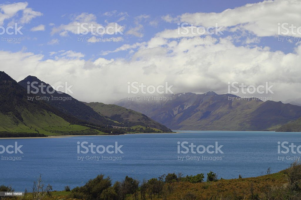 Beautiful lake royalty-free stock photo