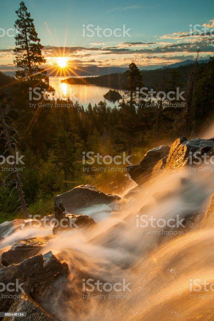 Beautiful Lake Tahoe California foto de stock royalty-free