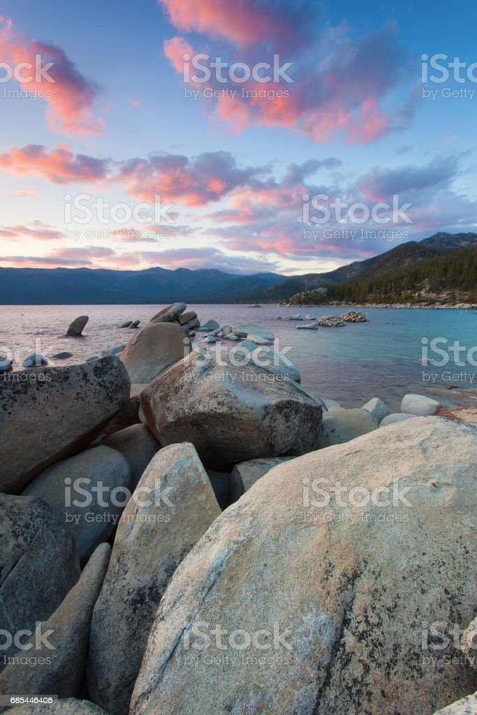 Beautiful Lake Tahoe California foto de stock royalty-free