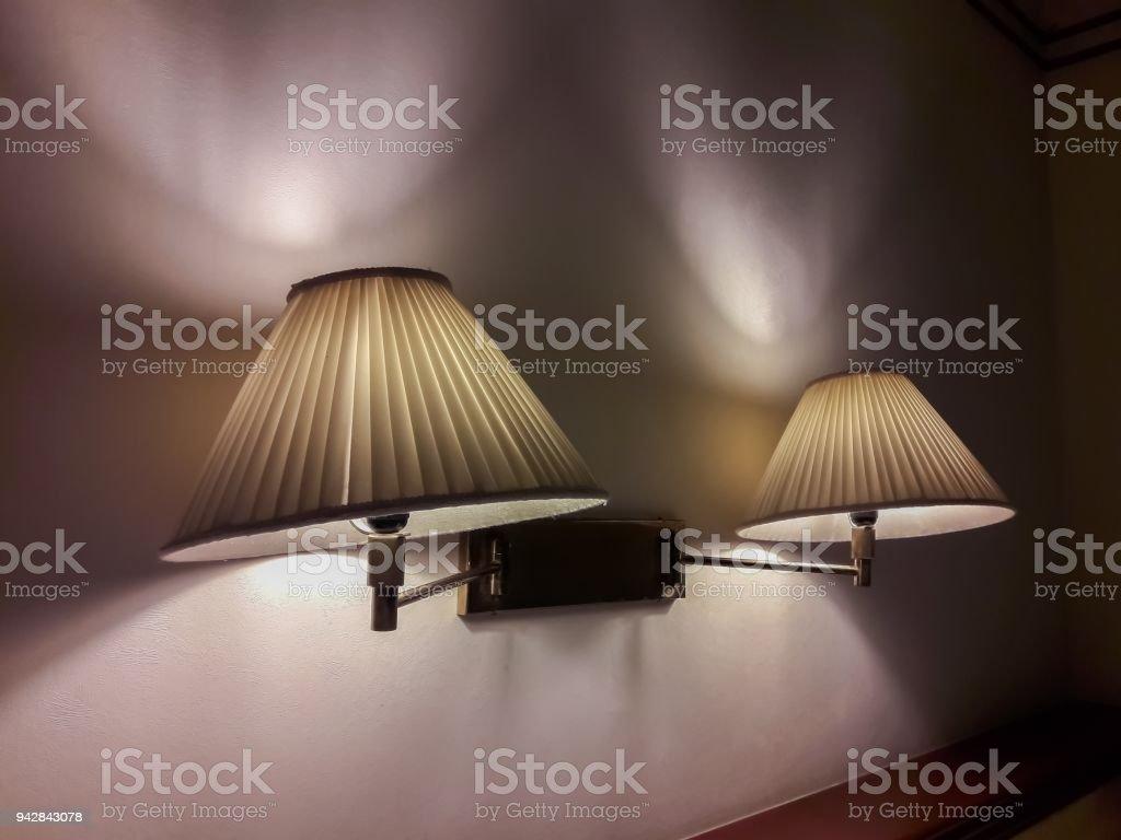 Schöne Lampe Im Schlafzimmer Stockfoto und mehr Bilder von ...