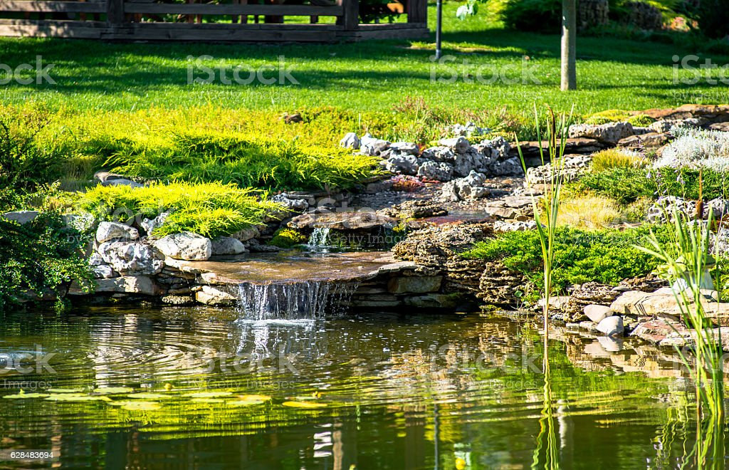 beautiful landscape design – Foto