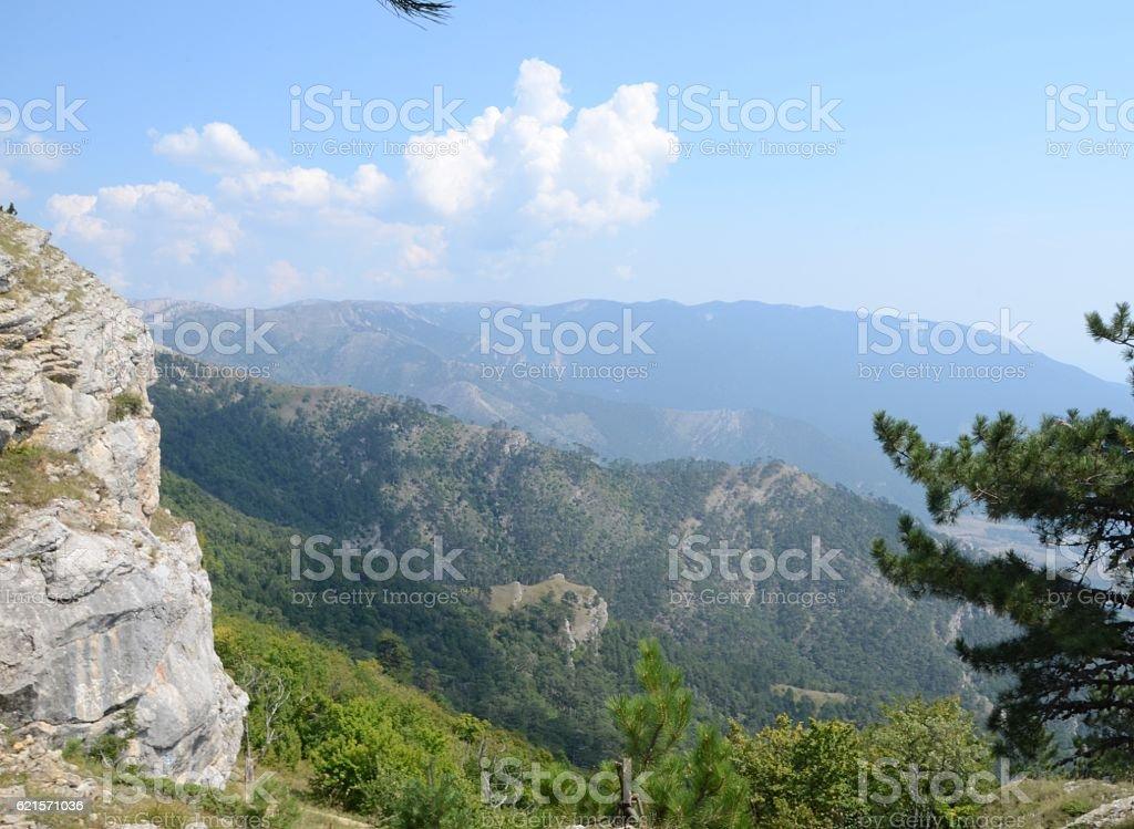 Magnifique paysage de Crimée photo libre de droits