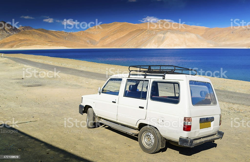 Beautiful landscape in Norther part of India stock photo