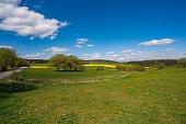 beautiful landscape in Thuringia