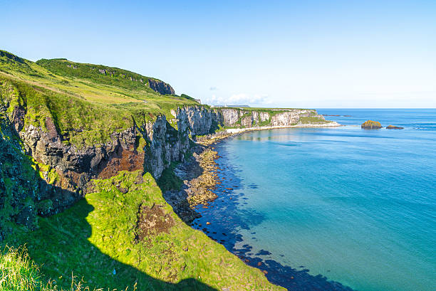 beautiful landscape of cliffs in ireland - cliffs of moher stock pictures, royalty-free photos & images