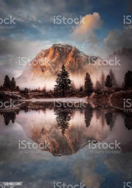 Beautiful landscape of passo di falzarego lago di limides picture id1094651062?b=1&k=6&m=1094651062&s=612x612&h=mdgyjx08m  rpd5kxeidvpciw6crqgsyo y4phshnae=