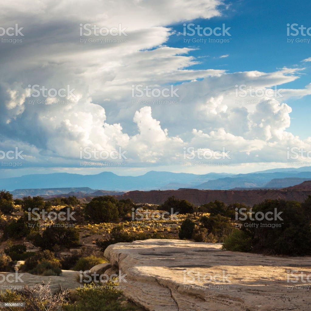 Beautiful Landscape of Rural Utah, USA royalty-free stock photo