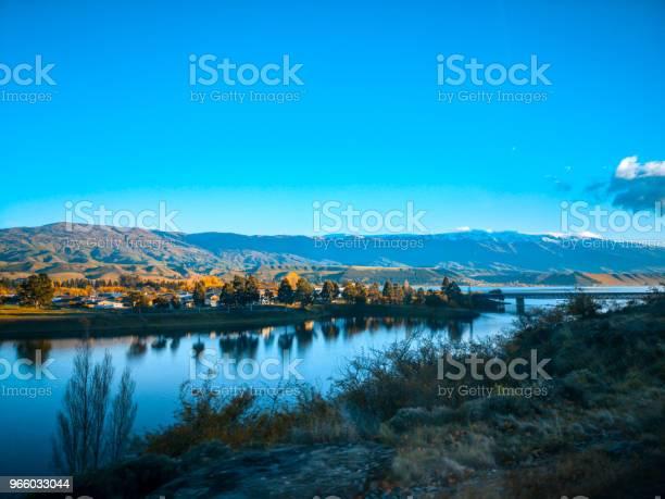 Ett Vackert Landskap På Morgonen South Island Nya Zeeland-foton och fler bilder på Asfalt