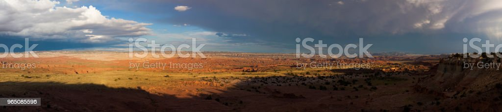 Beautiful Landscape Panoramic of Rural Utah, USA zbiór zdjęć royalty-free