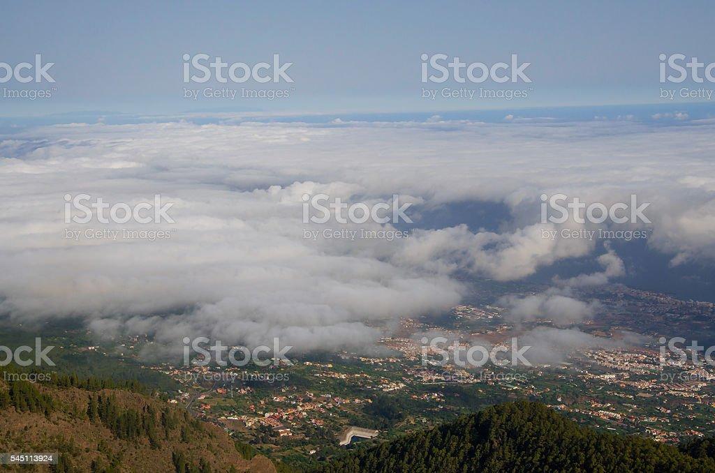 Beautiful landscape Tenerife, Canary Islands, Spain stock photo