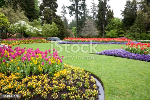 Beautiful garden during the Spring.