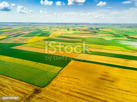 Agriculture area in Central Europe