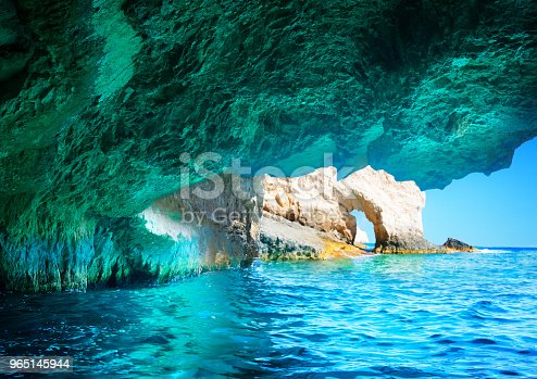 Beautiful Lanscape Of Zakinthos Island Stock Photo & More Pictures of Aquatic Organism