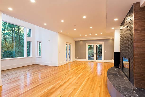 Beautiful Large Living Room stock photo