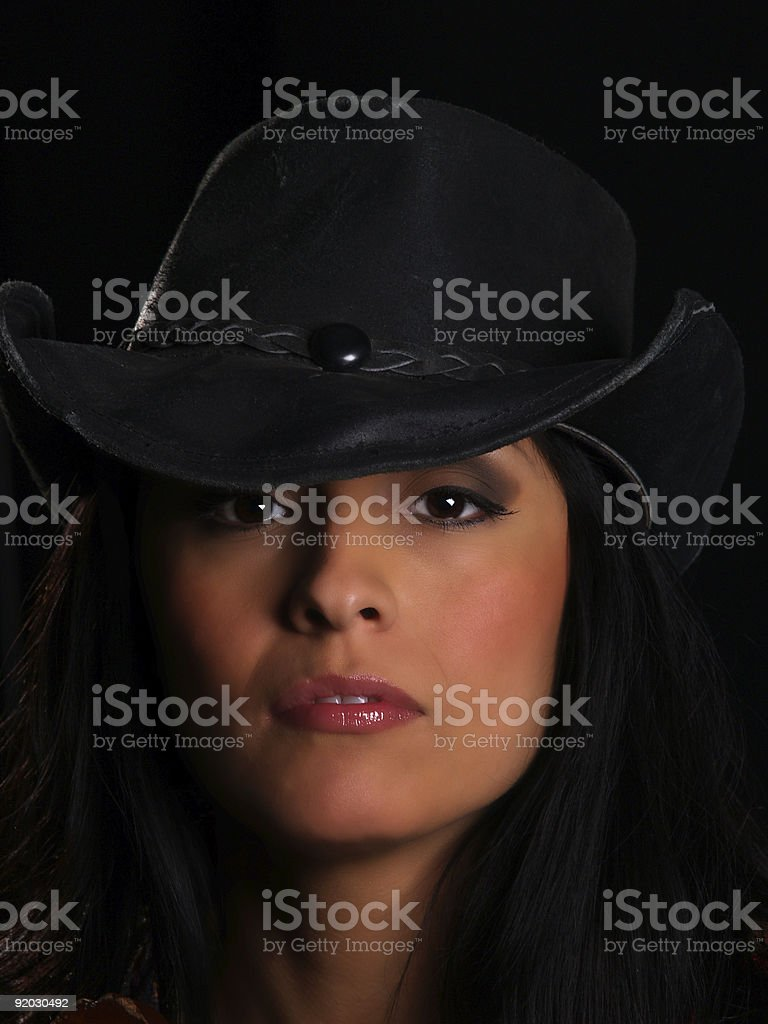 Beautiful latino girl royalty-free stock photo