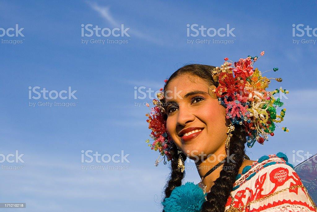 Beautiful Latino Girl Portrait royalty-free stock photo