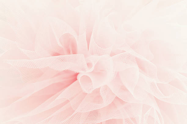 Beautiful layers of delicate pink fabric Beautiful layers of delicate pink fabric lace textile stock pictures, royalty-free photos & images