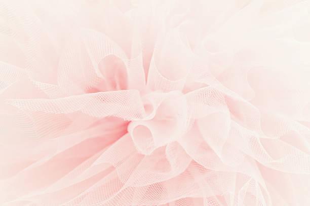 piękny delikatny różowy tkanina warstwy - tiul tkanina zdjęcia i obrazy z banku zdjęć