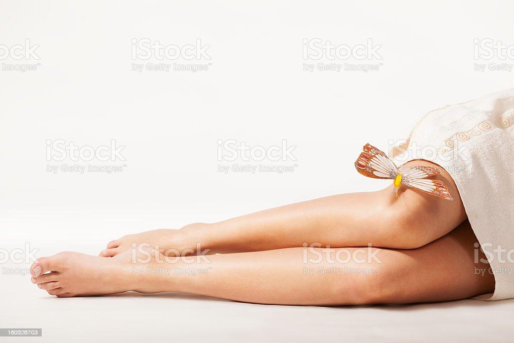 Cтоковое фото Красивые ноги