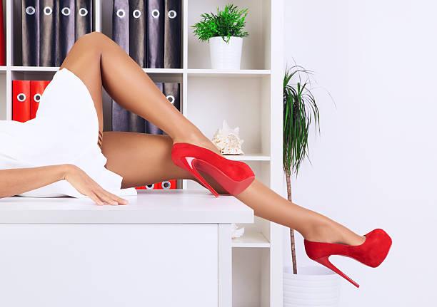 Belas pernas - foto de acervo