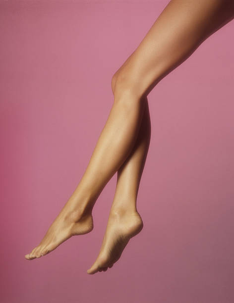 beautiful legs - smooth stock photos and pictures