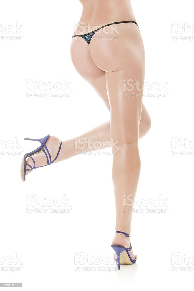 Beautiful legs royalty-free stock photo