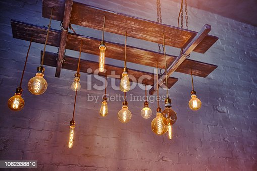 beautiful lighting decor bulb Industrial vintage style
