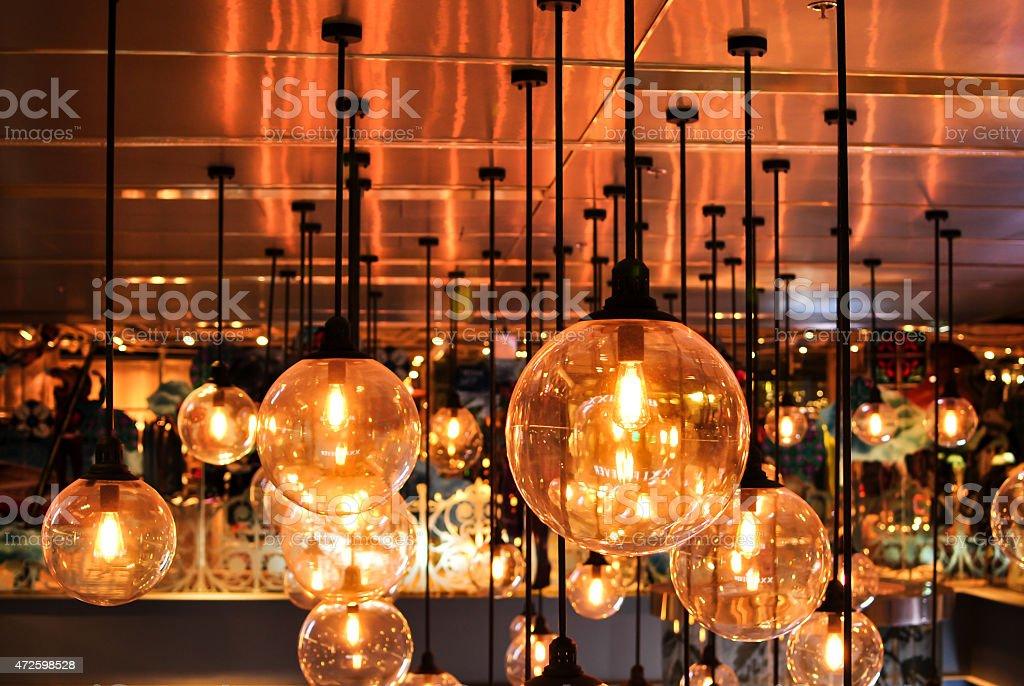 beautiful lighting stock photo
