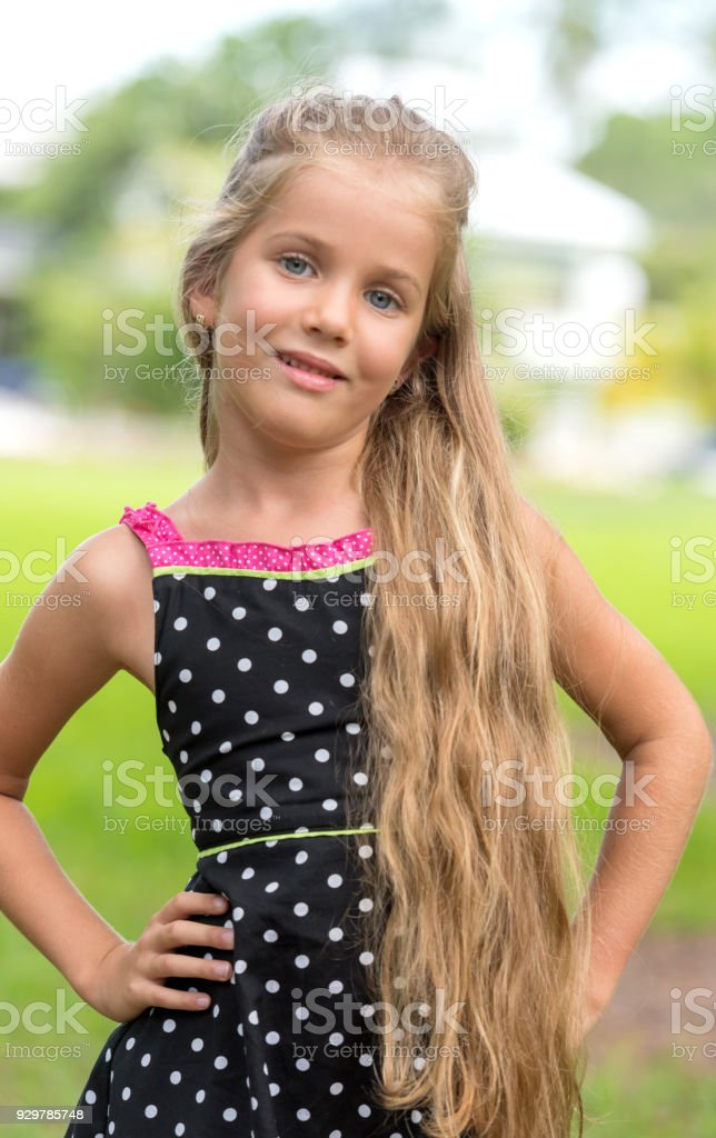 Beautiful Little Girl Stock Photo - Download Image Now -8166