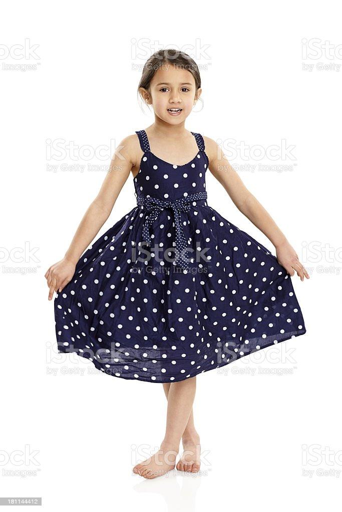Schöne Mädchen In Hübsches Kleid Stock-Fotografie und mehr Bilder ...