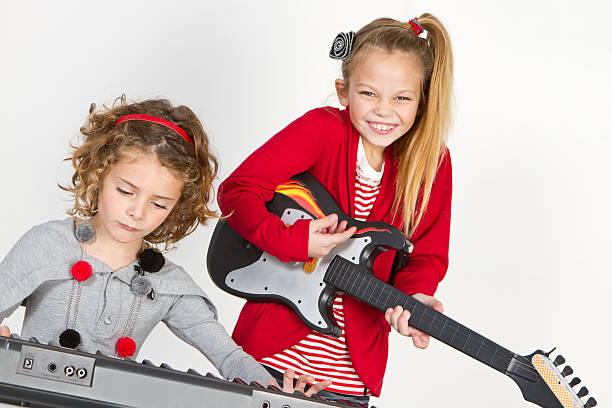 Beautiful little rockers stock photo