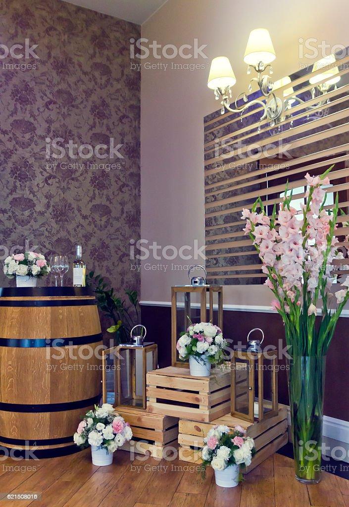 Beautiful lobby Lizenzfreies stock-foto
