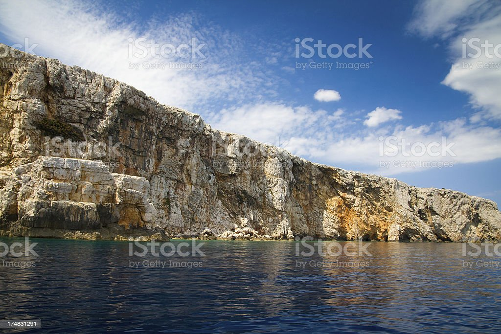 Beautiful location in Cres royalty-free stock photo