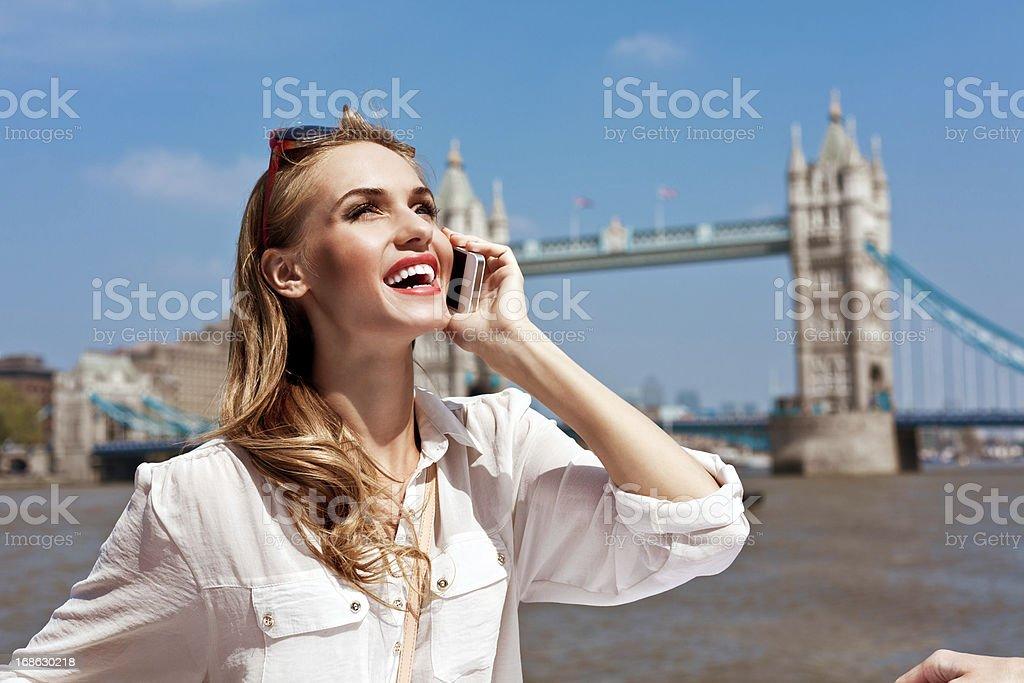 Beautiful London Tourist royalty-free stock photo