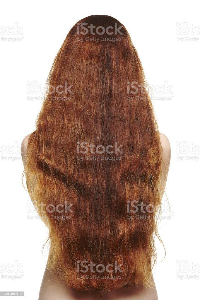 Schöne Lange Rote Haare Frau Stockfoto Und Mehr Bilder Von