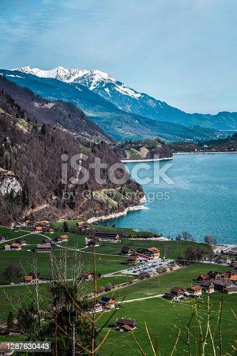 Beautiful Lungern Lake, Switzerland