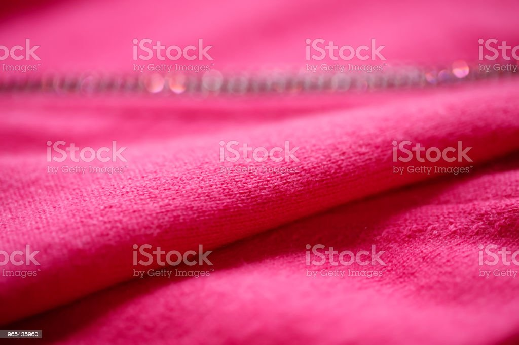 Beautiful, luxurious, knitted cardigan in pink, autumn, winter, warm. zbiór zdjęć royalty-free