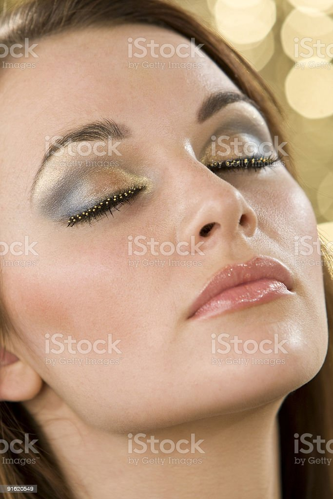 Beautiful Make Up royalty-free stock photo