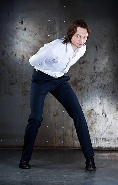 Beautiful man stock photo