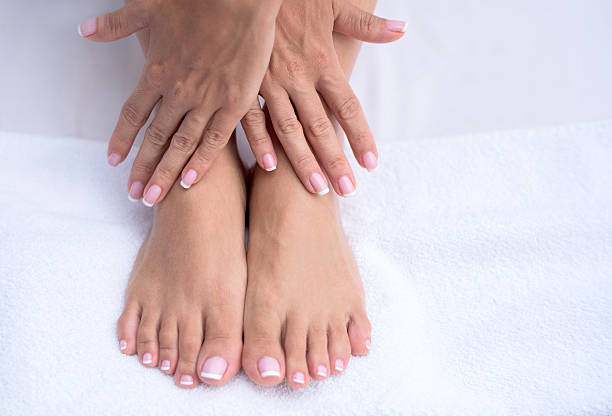 Beautiful manicure and pedicure - Photo