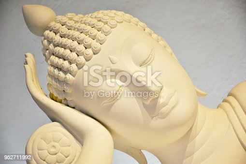 Beautiful marble Buddha