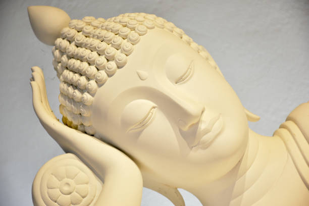 Schöne Marmor Buddha – Foto