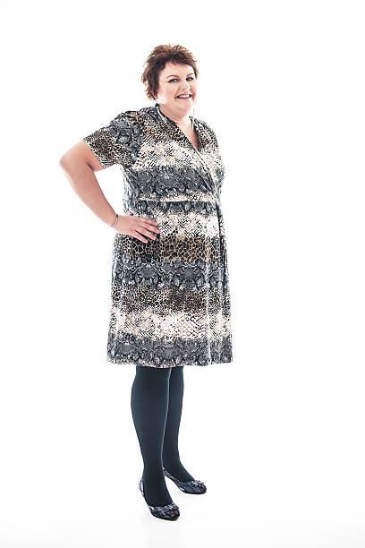 Vestidos Para Señoras Gorditas Banco De Fotos E Imágenes