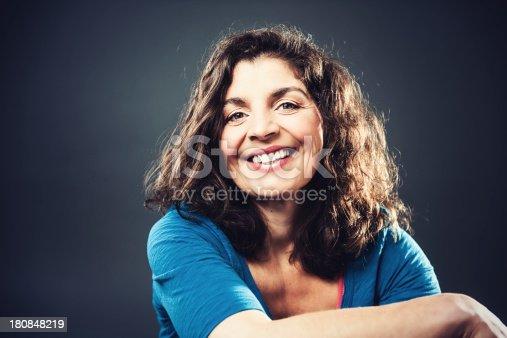 istock Beautiful mature woman 180848219