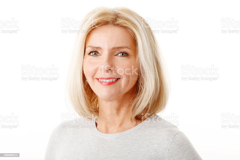 Belle femme d'âge mûr - Photo