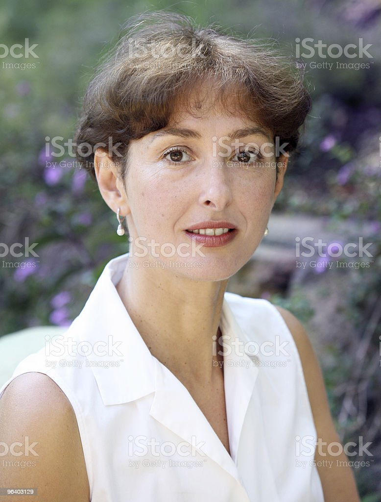 Beautiful mature woman - Royalty-free Adult Stock Photo