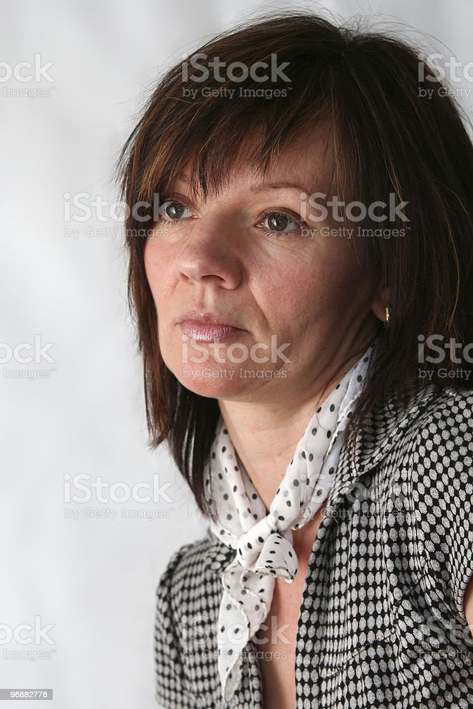 Schöne Ältere Frau Lizenzfreies stock-foto