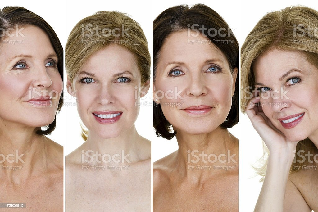 Beautiful mature women royalty-free stock photo