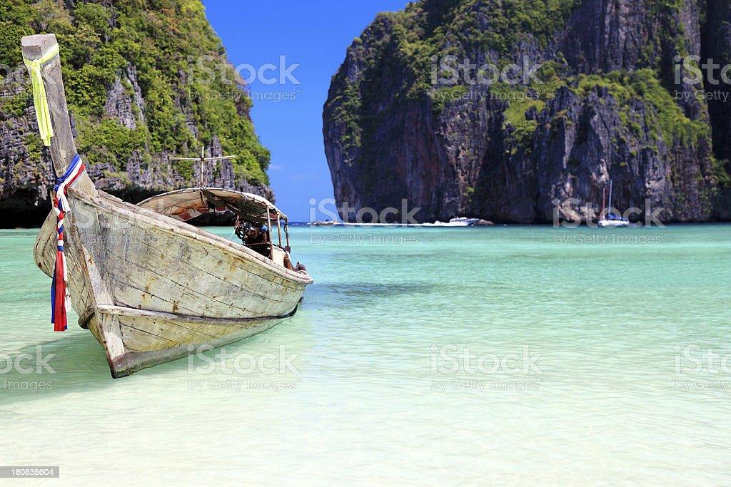 Beautiful Maya Bay royalty-free stock photo