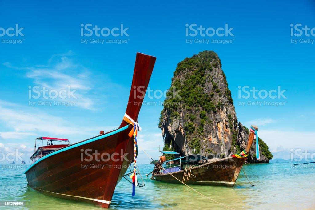 Beautiful Maya Bay stock photo